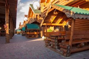 деревянные коттеджи на берегу моря