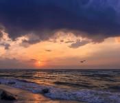 Прибрежное Чёрное море Саки Крым