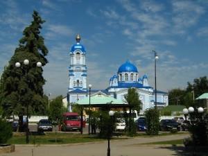 Храм Святого Пророка Илии вид с площади