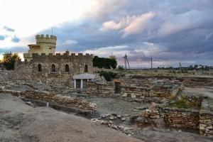 Греко-скифское городище Кара-Тобе IV в. До н.э.-III в. Музей древностей Северо-Западного Крыма